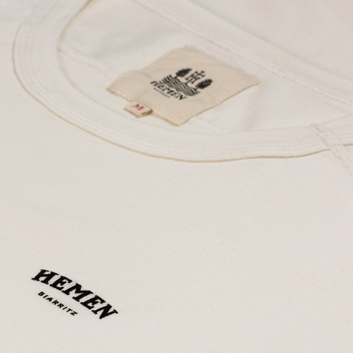 Hemen Biarritz Long-sleeve Tee Adrian - Natural - 3