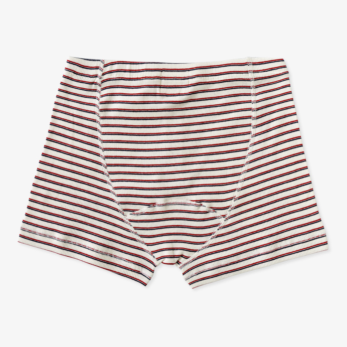 Hemen Biarritz Boxer Albar - Stripe Natural / Red Mar - 2