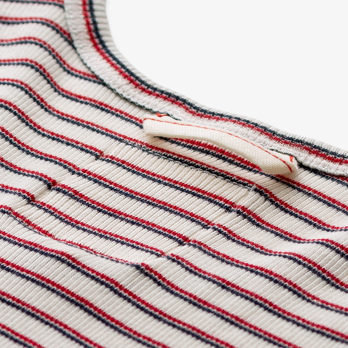 Hemen Biarritz Marcel Gari - Stripe Natural / Red Mar - 4