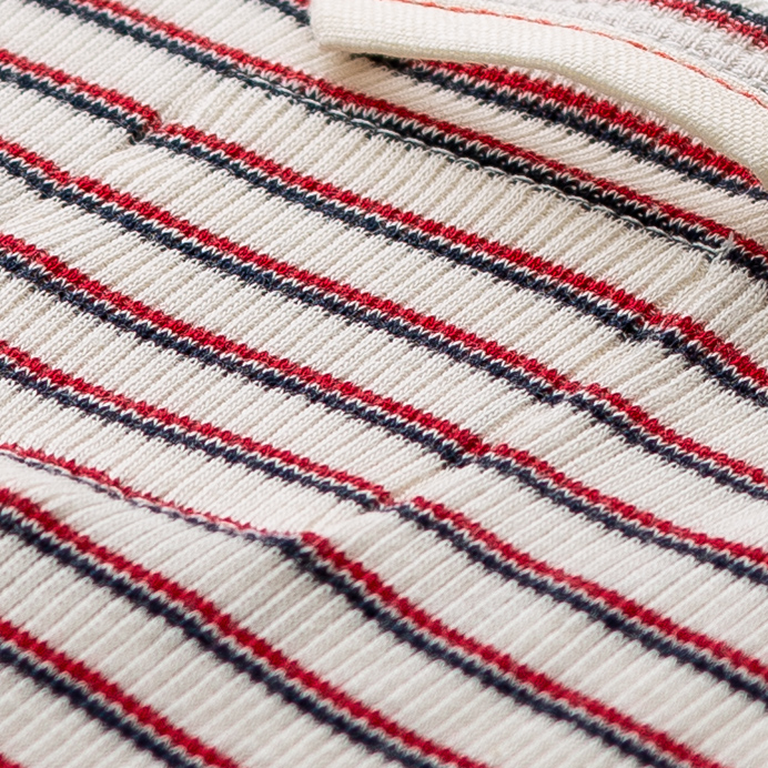 Hemen Biarritz Marcel Gari - Stripe Natural / Red Mar - 5