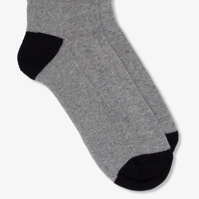 Hemen Biarritz Socks HMN02 - Heather Grey - 3